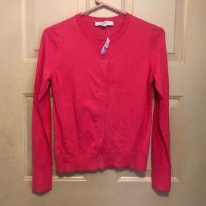 Ann Taylor Loft Women's Red Shirt